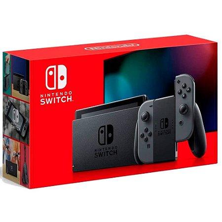 Nintendo Switch 32GB + 02 Controles Joy-Con Cinza