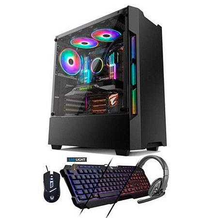 Pc Gamer Smart PC SMT81778 i5 8GB (GT 1030 2GB) 1TB - Neologic