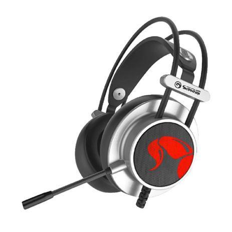 Headset Gamer Marvo HG9055 Surround 7.1 USB Led 7 Cores