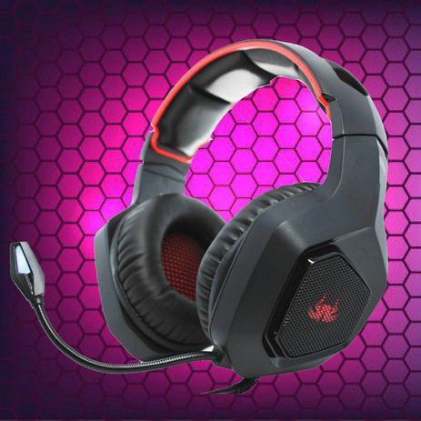 Headset Gamer Headphone Super Bass 7.1 RGB Game PC Celular - Kp-488-4