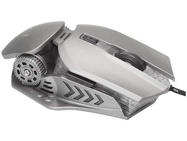 Mouse Gamer Warrior Keon Óptico - 3200dpi 6 Botões