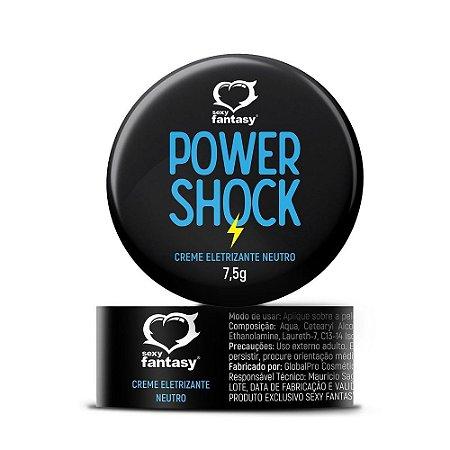 Power Shock Creme Eletrizante Neutro 7,5g