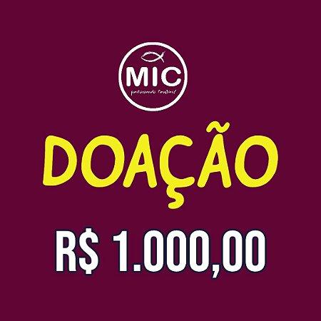 Doação 1.000,00