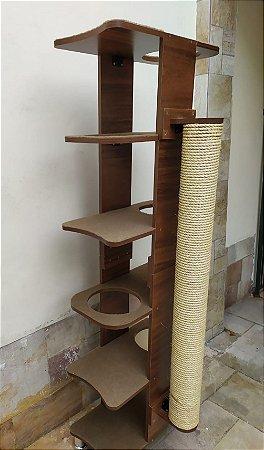 Torre Furada Com Arranhador  para maine coon