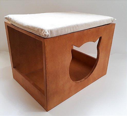 Nicho toca casinha para gato Maine Coon  Com Almofada