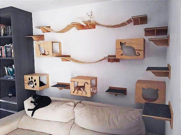Kit Com 20 Peças Para Gatos