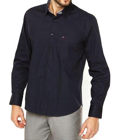 Camisa Aramis Slim Fit - Azul Marinho