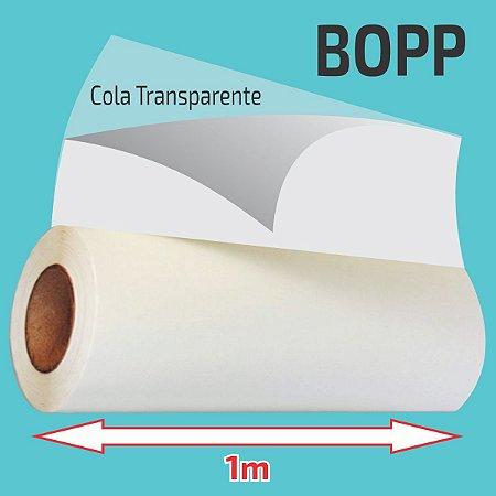 Adesivo Dupla Face BOPP Transparente (Largura 1m)