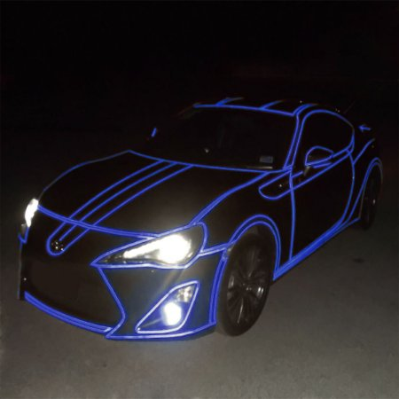 Adesivo Refletivo Azul (Largura 100cm) - VENDA POR METRO