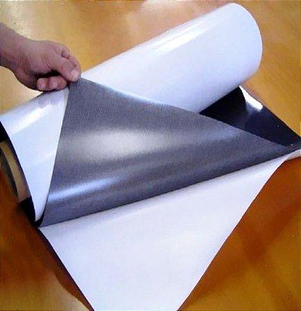 Manta Magnética 0,8 Adesivada (Largura 60cm) - VENDA POR METRO