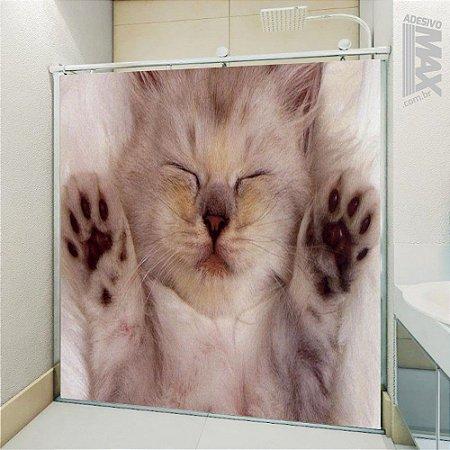 Adesivo Box - Gato Dormindo