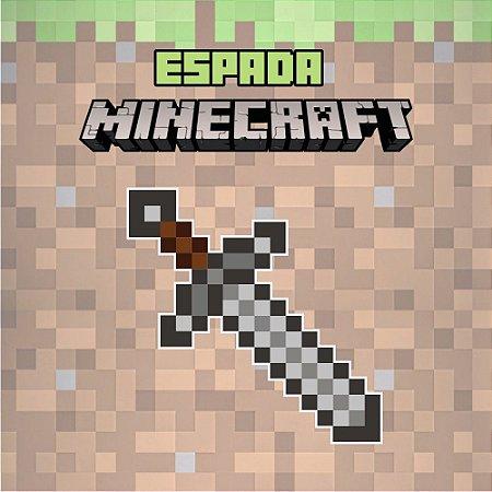 Adesivo Minecraft - Espada