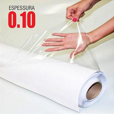 Adesivo Transparente Brilho 0,10mm (Largura 1m) - VENDA POR METRO