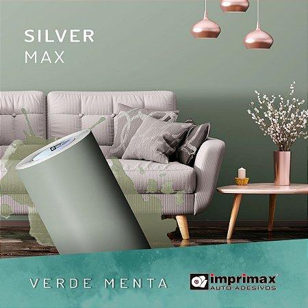 Adesivo MAX Silver Verde Menta (Largura 1,22m)