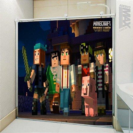 Adesivo Box - Minecraft Story Mode