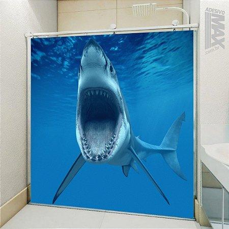 Adesivo Box - Tubarão Faminto