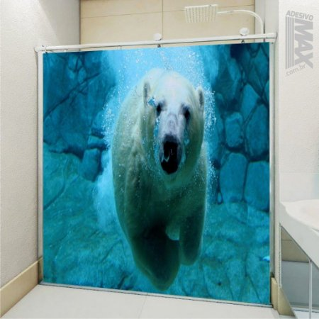 Adesivo Box - Urso Polar