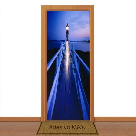 Adesivo de Porta - Blue Sky