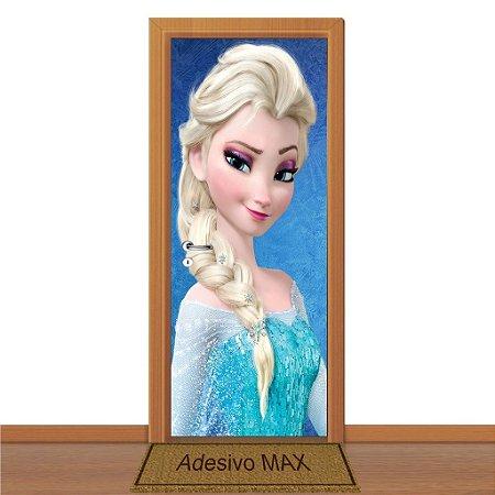 Adesivo de Porta - Frozen Elsa 2