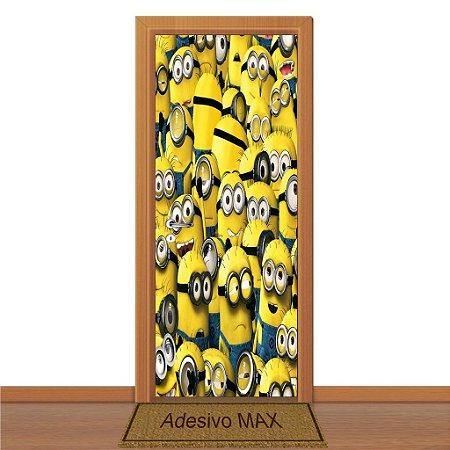 Adesivo de Porta - Minions 3