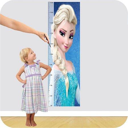 Adesivo Régua - Frozen Elsa