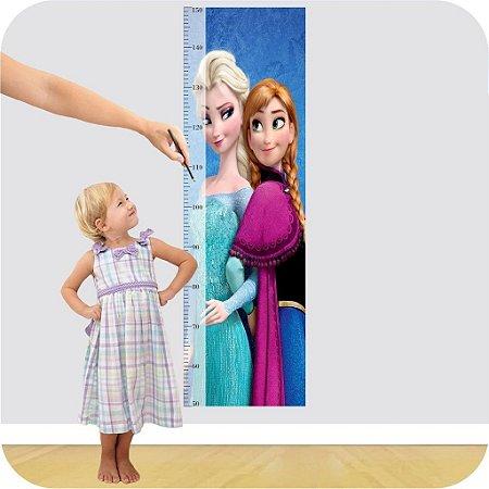 Adesivo Régua - Frozen Elsa e Anna