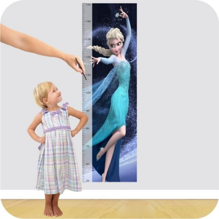 Adesivo Régua - Frozen Elsa 2
