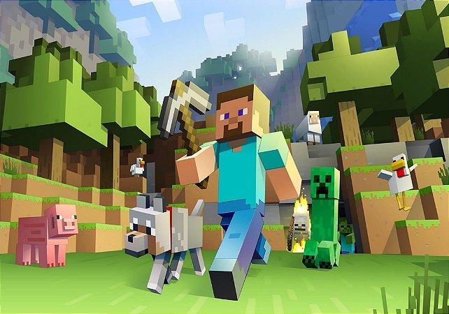 Adesivo de Parede - Minecraft