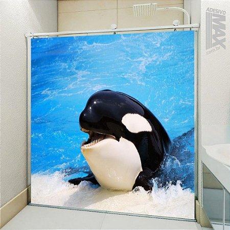 Adesivo Box - Baleia Orca