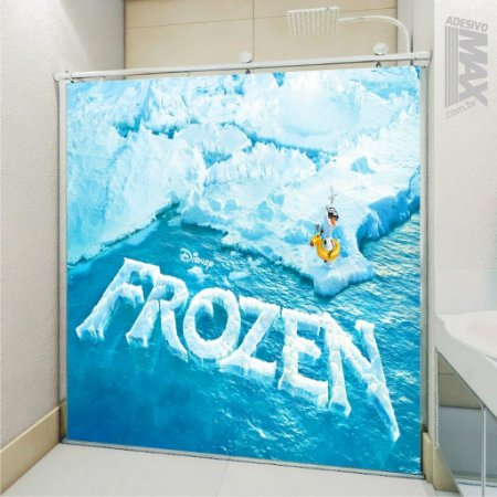 Adesivo Box - Frozen Olaf
