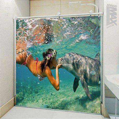Adesivo Box - Beijo no Golfinho