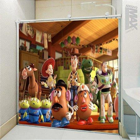 Adesivo Box - Toy Story Woody Buzz Cara de Batata
