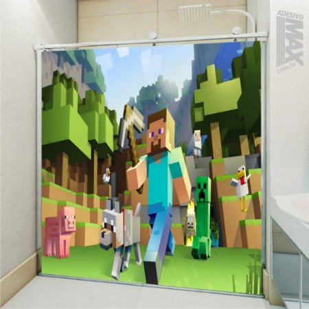 Adesivo Box - Minecraft