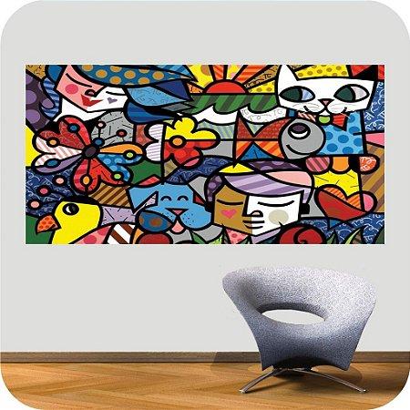Adesivo de Parede Colors Series 01