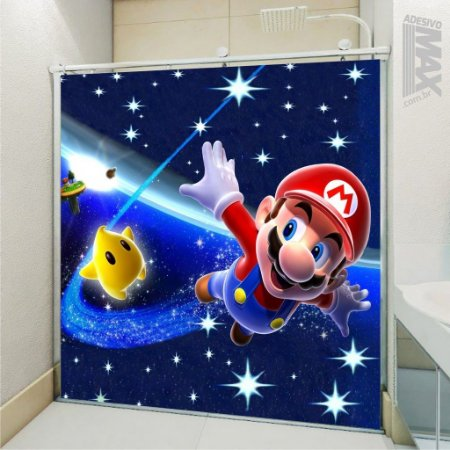 Adesivo Box - Super Mario Galaxy