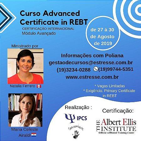 Curso Advanced in REBT