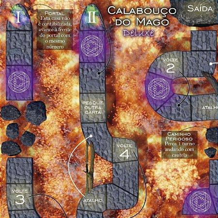 Tabuleiro Calabouço do Mago DELUXE (jogo Inverte e Volta)