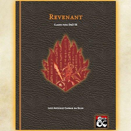 Classe: Revenant - Para D&D 5E (Homebrew) PAGUE O QUANTO QUISER