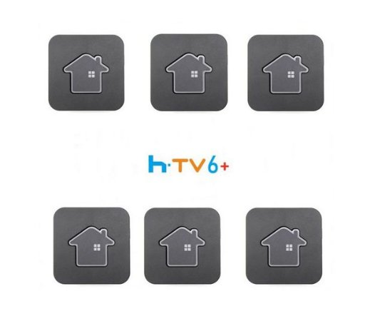 Kit de 6 Receptores Htv 6 Plus Ultra HD 16GB