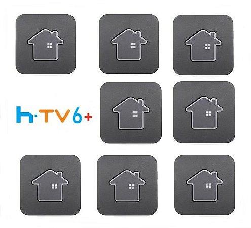 Kit de 8 Receptores Htv 6 Plus Ultra HD 16GB