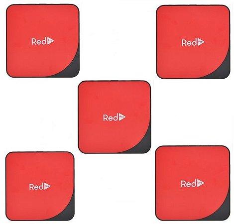 Kit de 5 Receptores Red Pro Ultra HD 4K 16GB