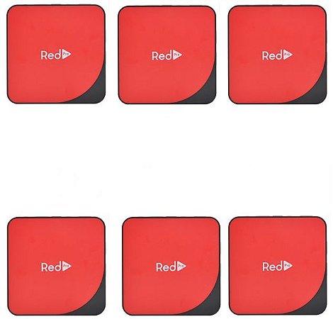 Kit de 6 Receptores Red Pro Ultra HD 4K 16GB