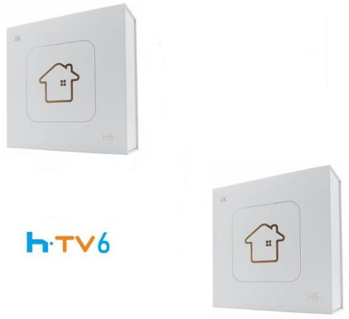 Kit de 2 Receptores Htv 6 Lite Ultra HD 8GB