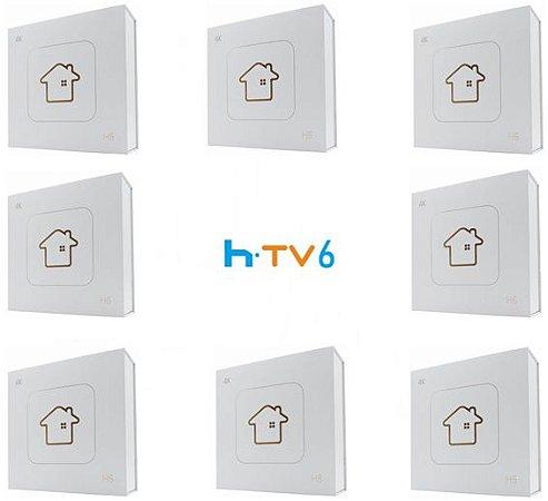 Kit de 8 Receptores Htv 6 Lite Ultra HD 8GB