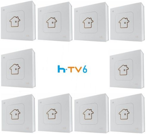 Kit de 10 Receptores Htv 6 Lite Ultra HD 8GB