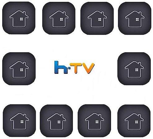 Kit de 10 Receptores Htv 7 Ultra HD 5G 16GB