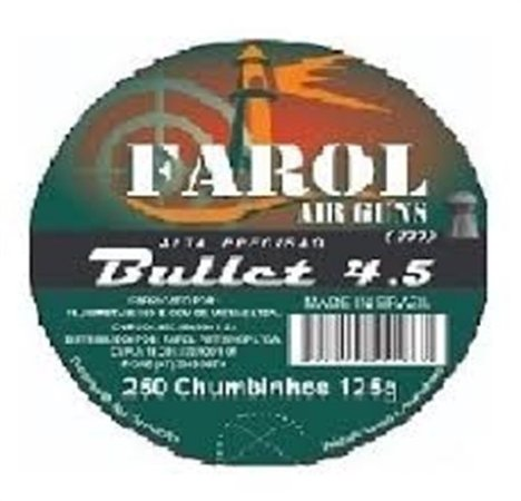 Chumbinho Farol 4,5 Airguns Bullet