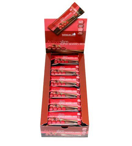 ACTIVESLIM SUPER BERRIES RED - CX COM 30