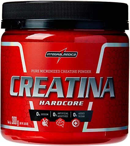 Creatina Hardcore - 300g - Integralmedica