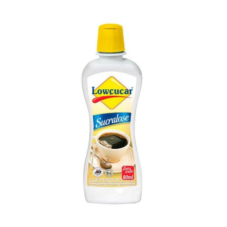 Adoçante Lowçucar  Sucralose 80ml